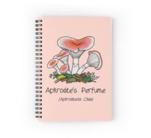 Aphrodite's perfume (with smiley face) Spiral Notebook