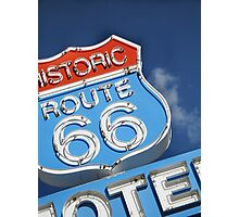 Historic Route 66 Photographic Print