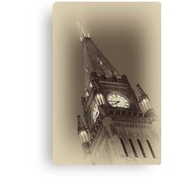 Peace Tower Canvas Print