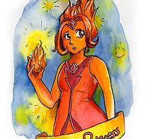 Flame Princess by MargoMundo