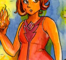 Flame Princess Sticker