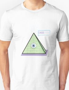 All seeing pyramid Unisex T-Shirt