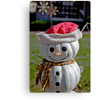 Frosty The Scarecrow Canvas Print