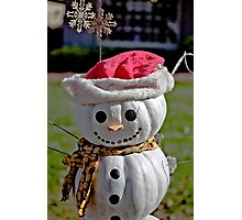 Frosty The Scarecrow Photographic Print