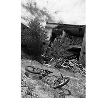 Wyoming bicycle Photographic Print