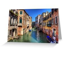 Rio di San Polo Greeting Card