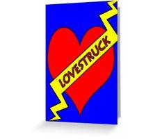 lovestruck card Greeting Card