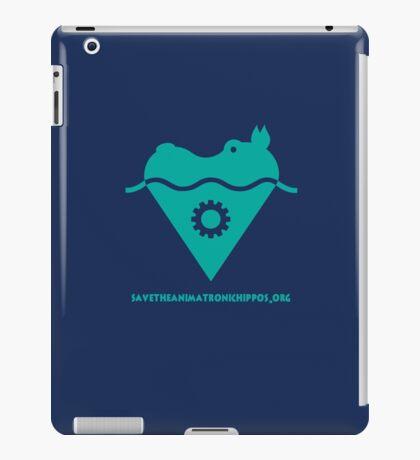 AAHCS Hippo Heart Logo  iPad Case/Skin