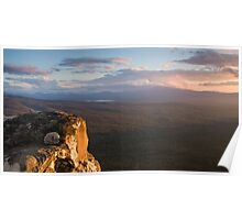 Sunset, Victoria Valley Poster