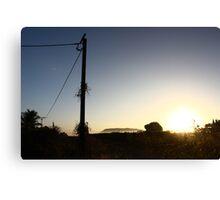 Gunbalanya Sun Rise, Arnhem Land Canvas Print