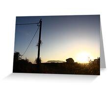 Gunbalanya Sun Rise, Arnhem Land Greeting Card
