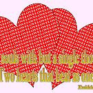 2 love hearts, 2 souls, halm quote by dedmanshootn
