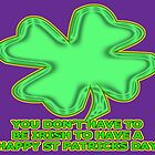 shamrock for non-irish by dedmanshootn