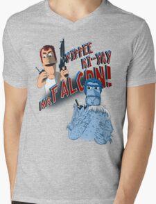 Yippee Ki-Yay, Mr Falcon! Mens V-Neck T-Shirt