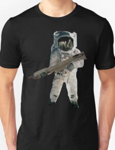 Astro the fun naut: WITH A LAZAR GUN!!!! T-Shirt