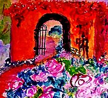 Archway too?  watercolor by Anna  Lewis, blind artist