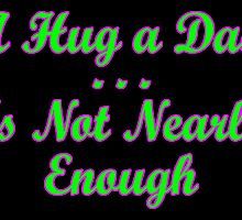 not enough hugs card by dedmanshootn