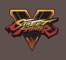 Street Fighter V - Logo One Piece - Short Sleeve