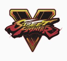 Street Fighter V - Logo Kids Clothes
