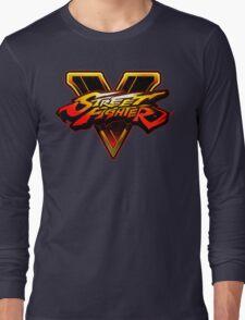 Street Fighter V - Logo Long Sleeve T-Shirt