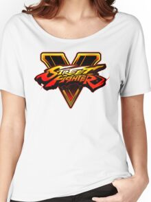 Street Fighter V - Logo Women's Relaxed Fit T-Shirt
