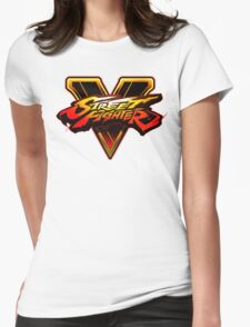 Street Fighter V - Logo Womens Fitted T-Shirt