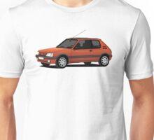 Peugeot 205 GTi red Unisex T-Shirt