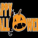 happy halloween black by dedmanshootn