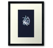 Legend of Korra - Water Bender Framed Print