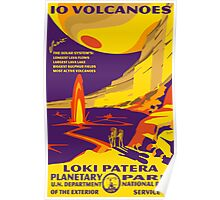 Io Planetary Park Poster Poster