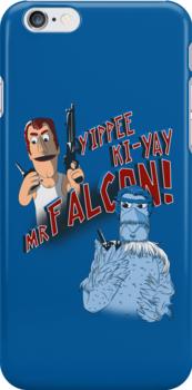 Yippee Ki-Yay, Mr Falcon! by Paul Robinson