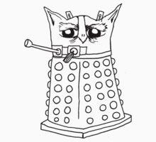 Dalek Owl Baby Tee