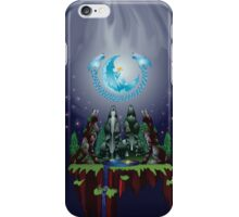 Song to the Lady Moon iPhone Case/Skin