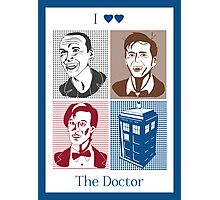 I Double Heart the Doctor Photographic Print