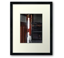Piano Decay Framed Print
