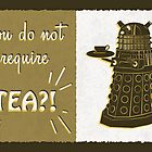 Dalek Tea Time by shardsofblue