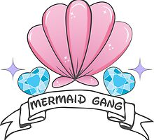 Mermaid Gang by Jamie Sucré
