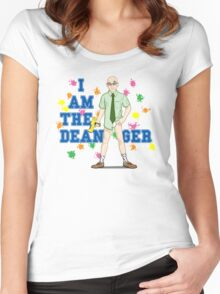 I am the Dean-ger!!! Women's Fitted Scoop T-Shirt