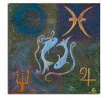Zodiac ~ ( Pisces ) by Clint Smith