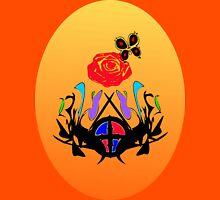 ை♠Vintage Royal Crest Posh Clothing & Stickers&♠ை Womens Fitted T-Shirt