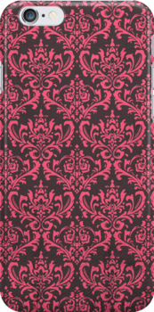Damask - Pink by alexistitch