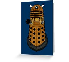 Dalek Exterminate Greeting Card
