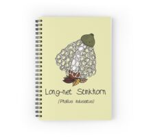 Long-net Stinkhorn (with smiley face) Spiral Notebook