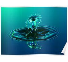 Aqua Shield Poster