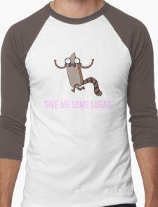 Gimme Some Sugar! - Regular Show (Text Version) Men's Baseball ¾ T-Shirt