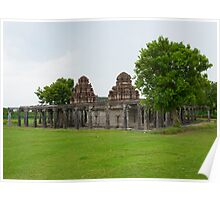 Shivan Temple - Gingee Fort Poster