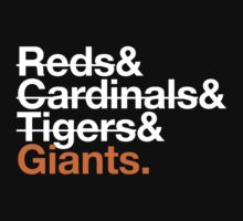 San Francisco Giants 2012 Opponents (Tigers) by Weapons of Moroland