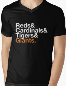 San Francisco Giants 2012 Opponents (Tigers) Mens V-Neck T-Shirt