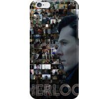 Sherlock BBC Screens iPhone Case/Skin