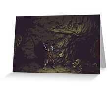 Pixel Tomb of the Giants Greeting Card